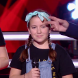 "Mivi Div - Battles de ""The Voice Kids 2019"" sur TF1. Le 27 septembre 2019."