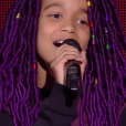 "Talima - Battles de ""The Voice Kids 2019"" sur TF1. Le 27 septembre 2019."