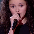 "Nour - Battles de ""The Voice Kids 2019"" sur TF1. Le 27 septembre 2019."