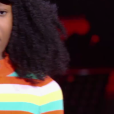 "Lisa - Battles de ""The Voice Kids 2019"" sur TF1. Le 27 septembre 2019."