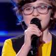 "Gaspard - Battles de ""The Voice Kids 2019"" sur TF1. Le 27 septembre 2019."