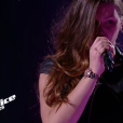 "Aëlwenn - Battles de ""The Voice Kids 2019"" sur TF1. Le 27 septembre 2019."