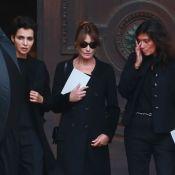 Carla Bruni, Cindy Crawford... En deuil aux obsèques de Peter Lindbergh