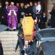 Obsèques du photographe allemand Peter Lindbergh en l'église Saint-Sulpice à Paris le 24 septembre 2019.