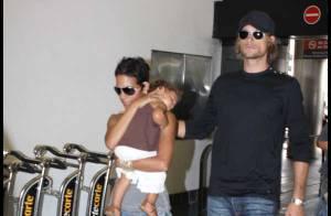 Halle Berry : Fin des vacances avec son chéri Gabriel et leur petite Nahla !