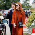 Julianne Moore assiste au défilé Christian Dior, collection prêt-à-porter printemps-été 2020. Paris, le 24 septembre 2019. © Christophe Clovis / Vereen / Bestimage
