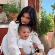 Kylie Jenner et l'adorable Stormi- Instagram.