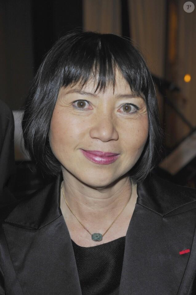 Anh Dao Traxel - Soirée Variety Club de France au profit de l'association Sleil d'enfance, au Fouquet's à Paris, le 29 novembre 2011.