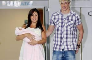 Le grand Fernando Torres vous présente... son adorable fille Nora !