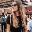 Rosalie, la fille de Jean-Luc Reichmann, en voyage en Chine, le 14 septembre 2019