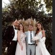 Tara Damiano (Secret Story 7) s'est mariée avec Franck Levy, Instagram (28 septembre 2019).