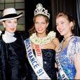 Gaelle Voiry, Miss France 1990, meurt dans un accident de la route en Savoie.