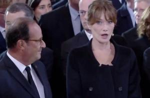 Hommage à Jacques Chirac: Carla Bruni choquée, la santé de Bernadette en cause ?