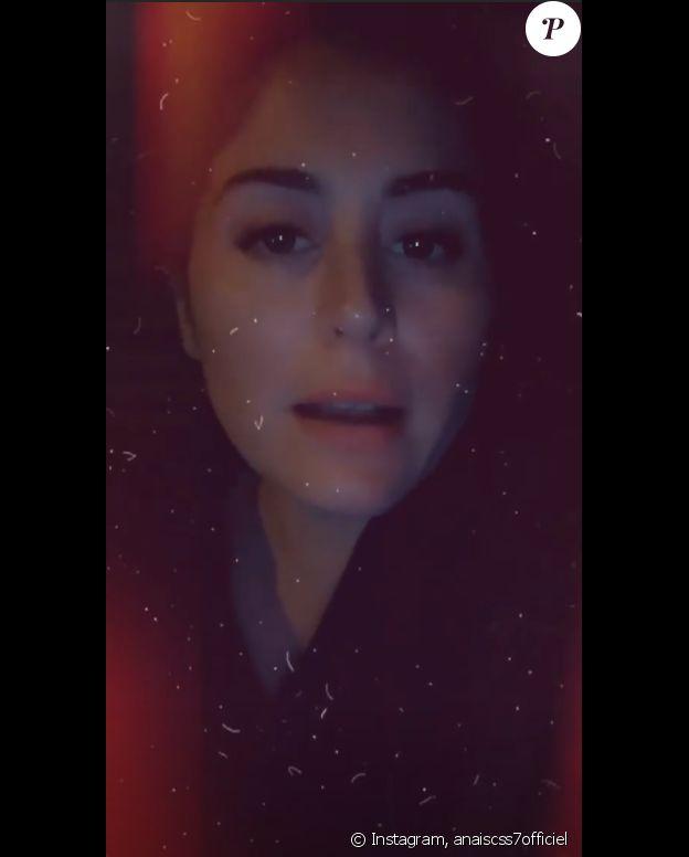 Anaïs Camizuli pousse un coup de gueule sur Instagram, le 30 septembre 2019