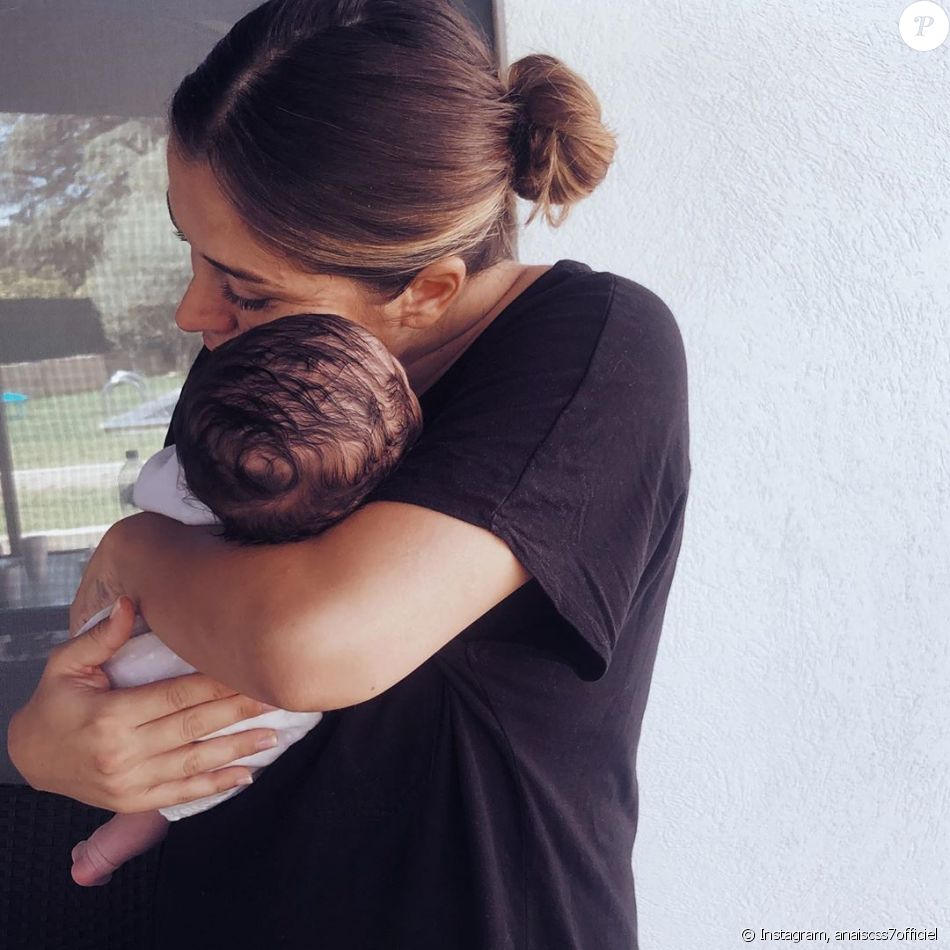 Anaïs Camizuli avec sa fille Kessi, sur Instagram, le 17 août 2019