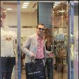 Bill Paxton faisant du shopping à Rome le 11 juillet 2009