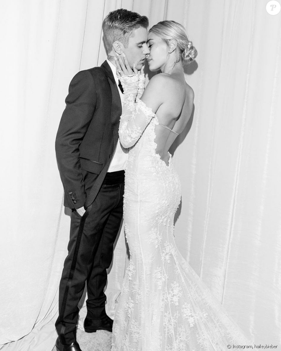 Mariage De Justin Bieber Et Hailey Baldwin 30 Septembre 2019 Robe Sirene Purepeople
