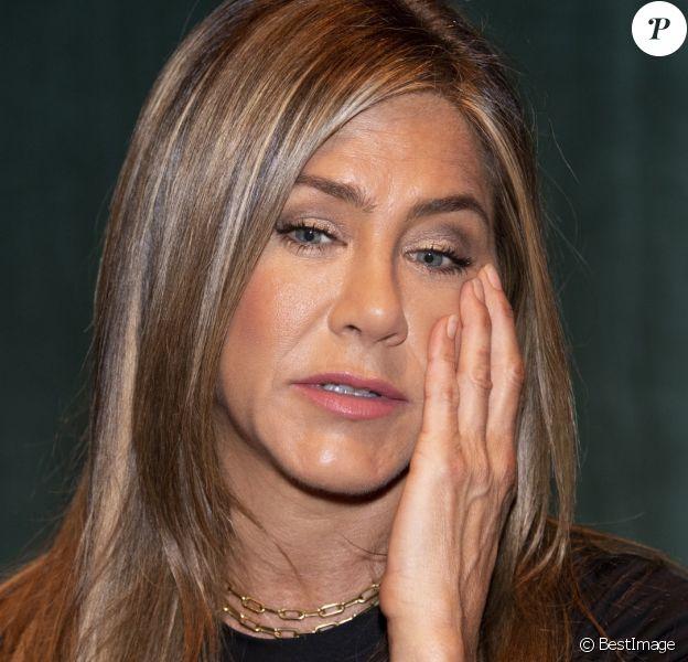 Jennifer Aniston en close-up au Wallis Annenberg Center à Los Angeles, le 11 septembre 2019.