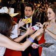 """Angelina Jolie à la première du film """"Maléfique : Le Pouvoir du mal"""" au Roppongi Hills Arena à Tokyo, Japon, le 3 octobre 2019. © Future-Image/Zuma Press/Bestimage"""