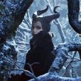 """Angelina Jolie dans le film """"Maleficient""""  Actresses Angelina Jolie and Elle Fanning in their last film 'Maleficent'. This movie tells the untold story of Disney's classic """"Sleeping Beauty.""""14/11/2013 -"""