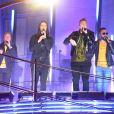 Les Backstreet Boys sur le toit du Radio City Music Hall lors des MTV Video Music Awards 2018 à New York, le 20 août 2018.