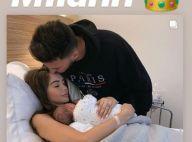 Nabilla maman : L'exploit de son fils Milann, 3 jours après sa naissance