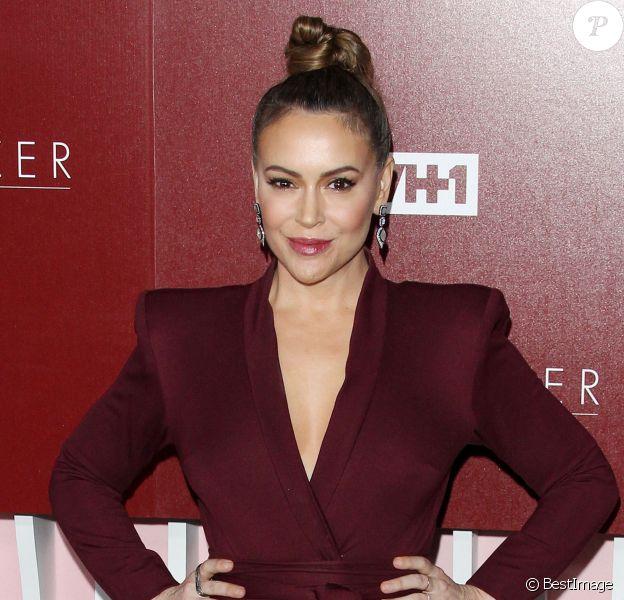 Alyssa Milano à la soirée VH1 Trailblazer Honors à Los Angeles, le 20 février 2019