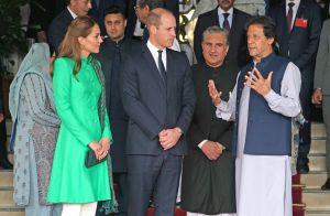 Kate Middleton éclatante en vert pour rencontrer le président pakistanais