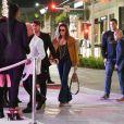 Paris Jackson arrive à la boutique FENDI sur Rodeo Drive pour la soirée de lancement de la collaboration 'Fendi Prints On' à Beverly Hills, le 15 octobre 2019.