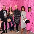 Diplo, Paris Jackson, Shaun Ross et les chanteuses Chloe x Halle assistent à la soirée de lancement de la collaboration 'Fendi Prints On' au magazine FENDI à Beverly Hills, le 15 octobre 2019.