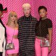 Shesmaad, Sydney Sweeney, Shaun Ross et Storm Reid assistent à la soirée de lancement de la collaboration 'Fendi Prints On' au magazine FENDI à Beverly Hills, le 15 octobre 2019.