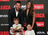 Lionel Messi, en famille, reçoit une belle récompense de ses fils