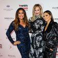 """Maria Bravo, Melanie Griffith, Eva Longoria au photocall de la soirée """"Global Gift Gala"""" au Kimpton Fitzroy à Londres, le 17 octobre 2019."""