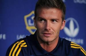 David Beckham : le footballeur sexy s'est offert un nouveau tatouage... Ses enfants en veulent aussi !
