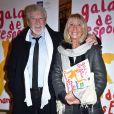 Patrick Préjean et sa femme Liliane - 27e Gala de l'Espoir de la Ligue contre le cancer au Théâtre des Champs-Elysées à Paris, le 22 octobre 2019. © Giancarlo Gorassini/Bestimage