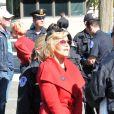 Jane Fonda participait pour la deuxième semaine à une manifestation pour le climat devant le Capitole à Washington le 18 octobre 2019 avec le mouvement Fire Drill Fridays. Et pour la deuxième semaine, elle a été arrêtée par la police.