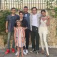 Les vacances estivales de la famille Beckham (été 2019).