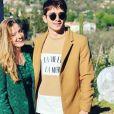 Charles Leclerc et sa compagne sur Instagram le 6 mars 2019.
