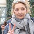 Corinne Masiero - Personnalités au studio Gabriel pour l'enregistrement de l'émission Vivement Dimanche à Paris le 20 février 2019.