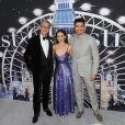 Paul Feig, Emilia Clarke et Henry Golding assistent à l'avant-première du film 'Last Christmas' à New York, le 29 octobre 2019.