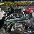 Exclusif - Kevin Hart hospitalisé : l'acteur américain victime d'un accident de voiture dans le quartier de Malibu à Los Angeles. Les faits ont eu lieu sur l'autoroute de Mulholland, dans le comté de Los Angeles. Blessé, l'acteur américain a été hospitalisé dans la foulée avec des blessures sérieuses au dos. Kevin Hart n'était pas au volant du véhicule, il occupait le siège passager de la voiture. Le conducteur, identifié comme étant Jared Black, producteur, acteur et réalisateur, a perdu le contrôle du véhicule. Selon les analyses, Jared Black n'avait ni bu ni consommé de la drogue. La voiture s'est retournée dans un fossé au bord de la route. Le mannequin Rebecca Brosterman, fiancée de Jared Black, était en compagnie des deux hommes. Elle n'aurait pas été blessée. Le 1er septembre 2019