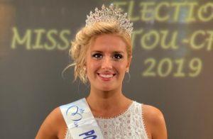 Miss France 2020 : Andréa Galland est Miss Poitou-Charentes 2019