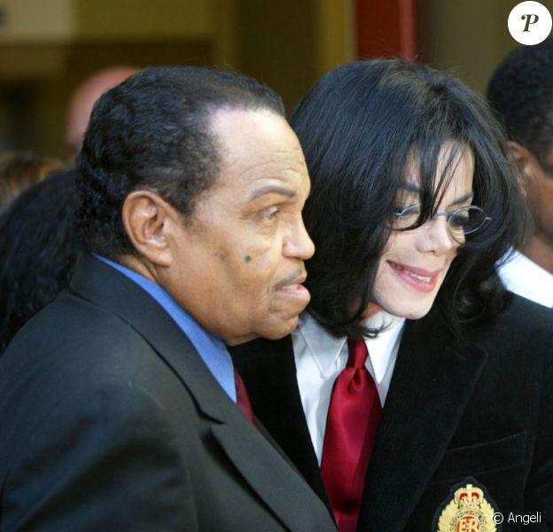 Michael Jackson et son père Joe