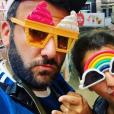 Laurent Ournac et sa femme Ludivine en vacances au Canada, le 13 août 2019