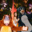 Iris Mittenaere (Miss France et Univers 2016) au green carpet du Festival du Roi Lion et de la Jungle à Disneyland Paris. Marne-la-Vallée, le 29 juin 2019. © Christophe Clovis
