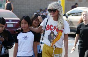 Laeticia Hallyday : Jogging et touche rock'n'roll avec l'ex de Calogero