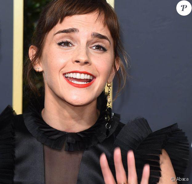 Emma Watson assiste aux 75e Annual Golden Globes Awards, au Beverly Hilton de Los Angeles. Le 7 janvier 2018. @Vince Flores/Startraks/ABACAPRESS.COM