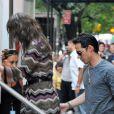 Jennifer Lopez sur le tournage de son nouveau film The Back-Up Plan, peut compter sur le soutien de son mari Marc Anthony