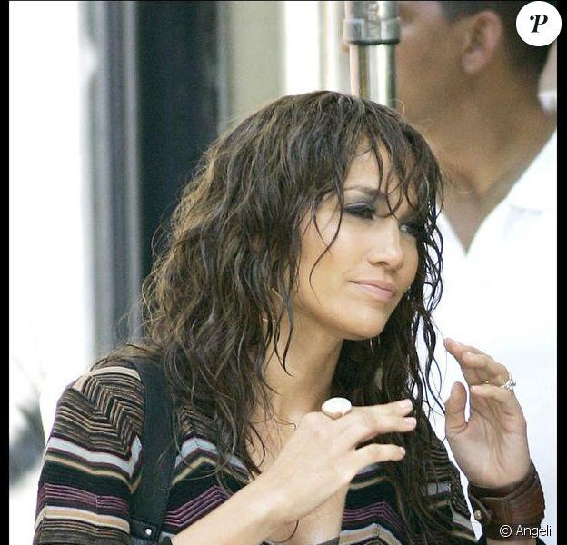 Jennifer Lopez sur le tournage de son nouveau film à New York !