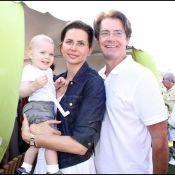 Kyle MacLachlan en famille... un papa trop fier de son adorable fils  !